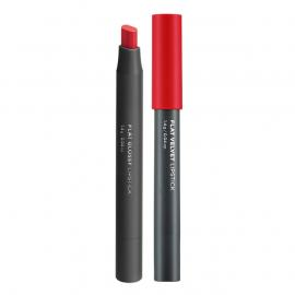 The Face Shop FLAT GLOSSY LIPSTICK RD01
