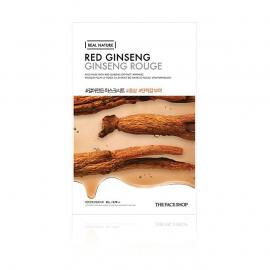 The Face Shop-Real Nature.Red Ginseng Face Mask