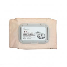 The Face Shop - Jeju Volcanic Lava Pore Cleansing Wipes