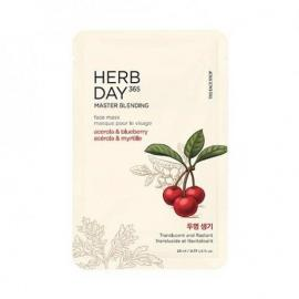 The Face shop -Herb Day.Acerola&Blueberry Mask