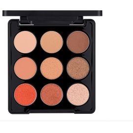 The Face Shop-Monopop Eyeshadow Palette 02 Mood Brown