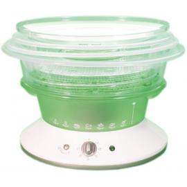 Tefal Steam Cooker 1.1 Liter - White And Green [VC4003]