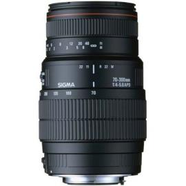 عدسة SIGMA لنيكون 70-300 / 4-5.6 DG MACRO (MOTORIZED)