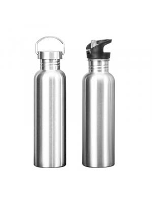 Drinking Water Bottle Stainless Steel Sports Gym Cycling Hiking Drinkware Bottle 500/750/1000ml
