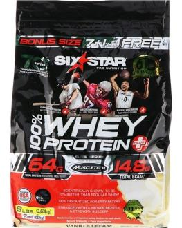 Six star 100% whey protein plus - 8 LBS - 70 Scoops