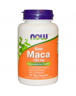 عشبة الماكا - 90 كبسولة - nowfoods maca for sexual wellbeing