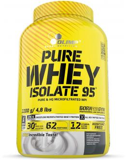olimp sport nurition - بيور واي ايزوليت  شوكلاته 95 - pure whey isolate 95