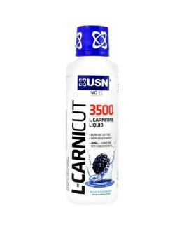 ال كرانتين - USN L-Carnicut 3500 Liquid Blue Raspberry 16Oz - 30 Servings