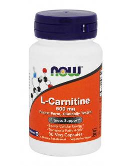 ال كرانتين - L - CARNITINE 500 mg 30 veg caps