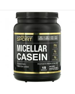 بروتين ميسيلار كازين - California Gold Nutrition, Micellar Casein Protein - 15 servings