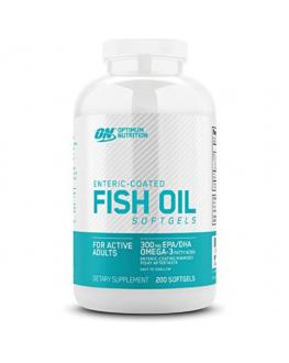 زيت سمك - Optimum Nutrition - Fish Oil - 200 Softgels