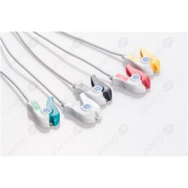 Menmen Disposable One Piece ECG Fixed Cable 2575P-I