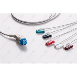 GE Healthcare>Datex>Ohmeda Disposable One Piece ECG Fixed Cable 2595P