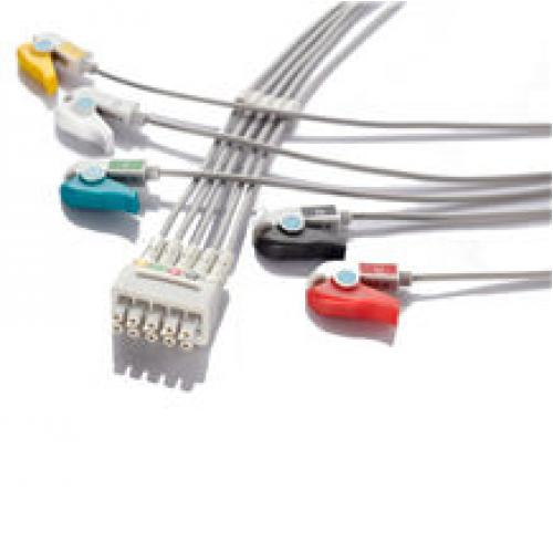 ECG Cables & Lead wires One piece Fixed Cable