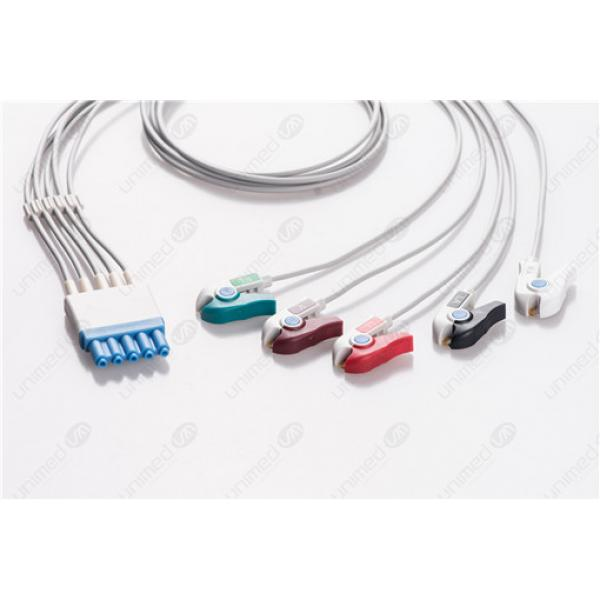 Philips Reusable ECG LeadWires HPA5-90P HPA5-90P-I