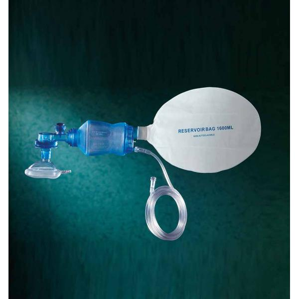 Disposable BVM Resuscitator Large with O2 Tubing