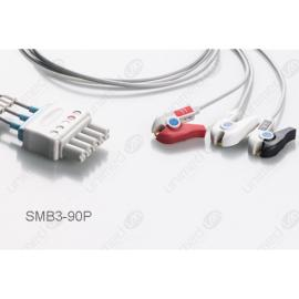 Drager>Siemens Reusable ECG LeadWires SMB3-90P SMB3-90P-I