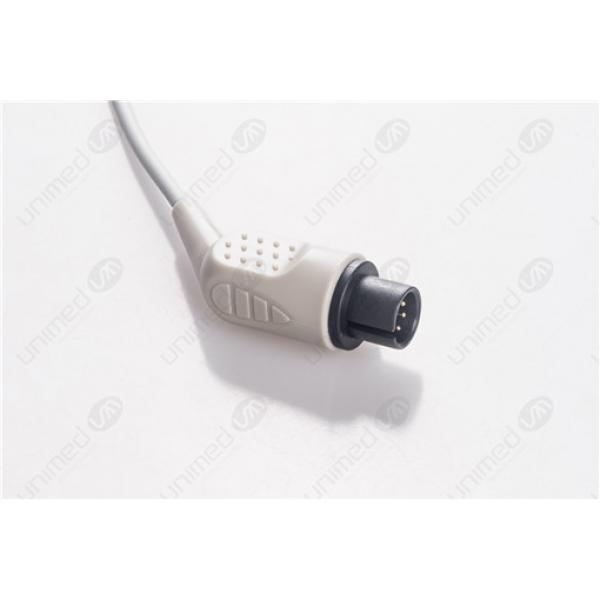 AAMI 6PIN Reusable One Piece ECG Fixed Cable 2345S