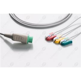 Biolight Disposable One Piece ECG Fixed Cable 2357P-I