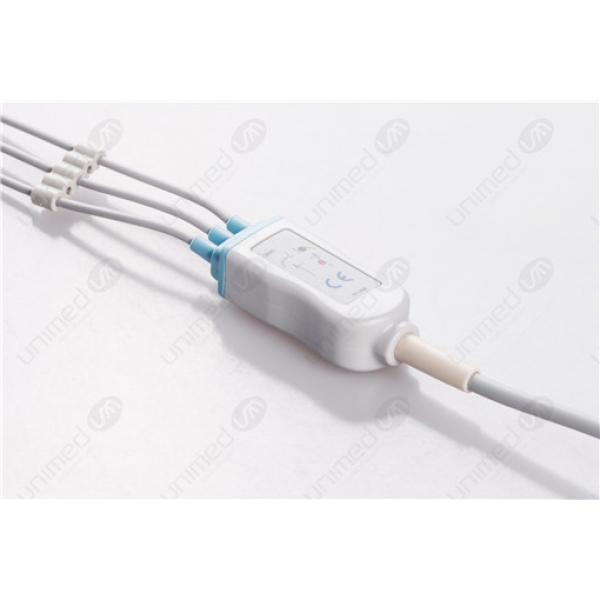 Philips Disposable One Piece ECG Fixed Cable 2385S
