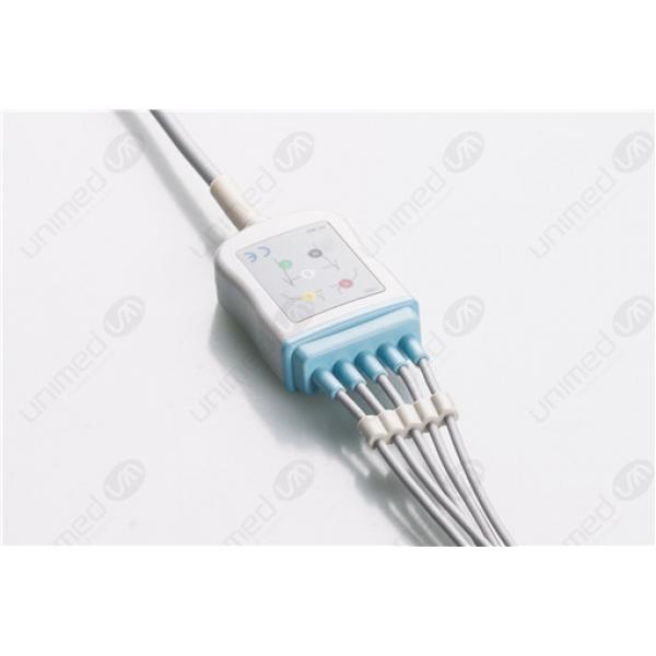Spacelabs Disposable One Piece ECG Fixed Cable 2596S-I