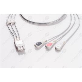 Philips Reusable ECG LeadWires HP3-90S