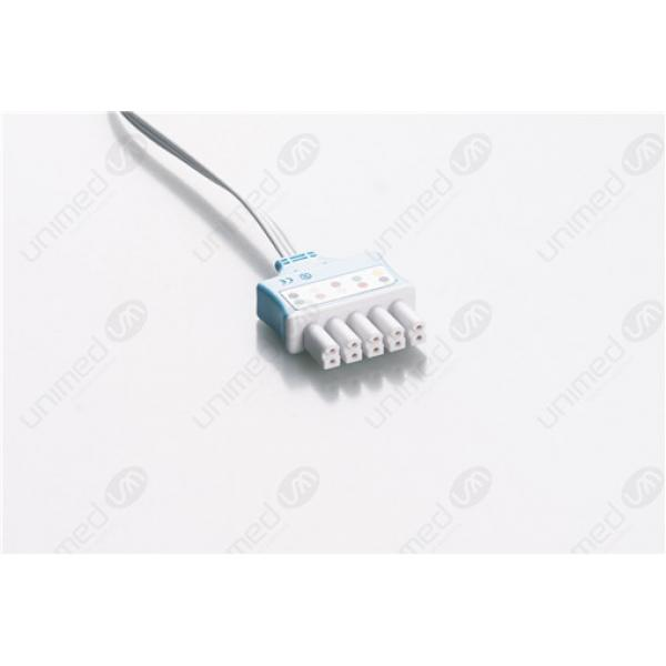 Drager>Siemens Disposable ECG LeadWires SMB3-90DP-I