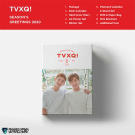 TVXQ! - 2020 SEASON'S GREETINGS - الكمية محودة