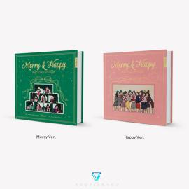 TWICE - Repackage Album Vol.1 [Merry& Happy] النسخة العشوائية