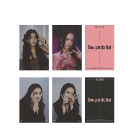 (HOW YOU LIKE THAT) PhotoCard BlackPink