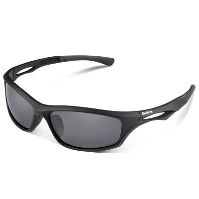 Duduma Polarized Sports Sunglasses for Baseball Running Cycling Fishing Golf Tr90 Durable Frame