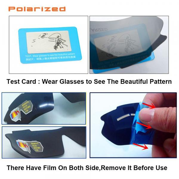 Polarized Sports Sunglasses Cycling Sun Glasses For Men Women With 5 Interchangeable Lenes Running Driving Fishing Golf Unbreakable Night Vision UV Protection (White)