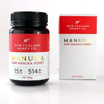 New Zealand Honey Co. Raw Manuka Honey UMF 15+ | MGO 514+, 500g