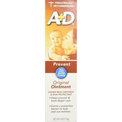 A+D Diaper Rash Ointment Original, 4 Ounce